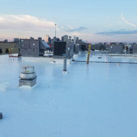 Flat Roof Installation Boston