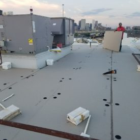 Flat Roofing Installation Boston Ma