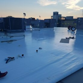 Flat Roofing Companies Boston Area