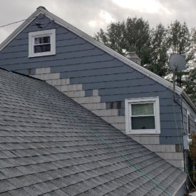 House Siding Installation With Flashing